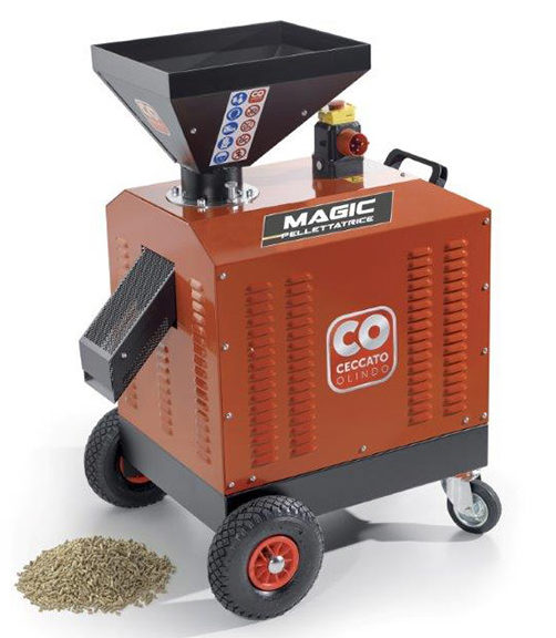Stroj za proizvodnju peleta MAGIC ELECTRIC
