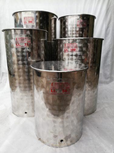 Inox bačve za vino od 35 do 1000 litara