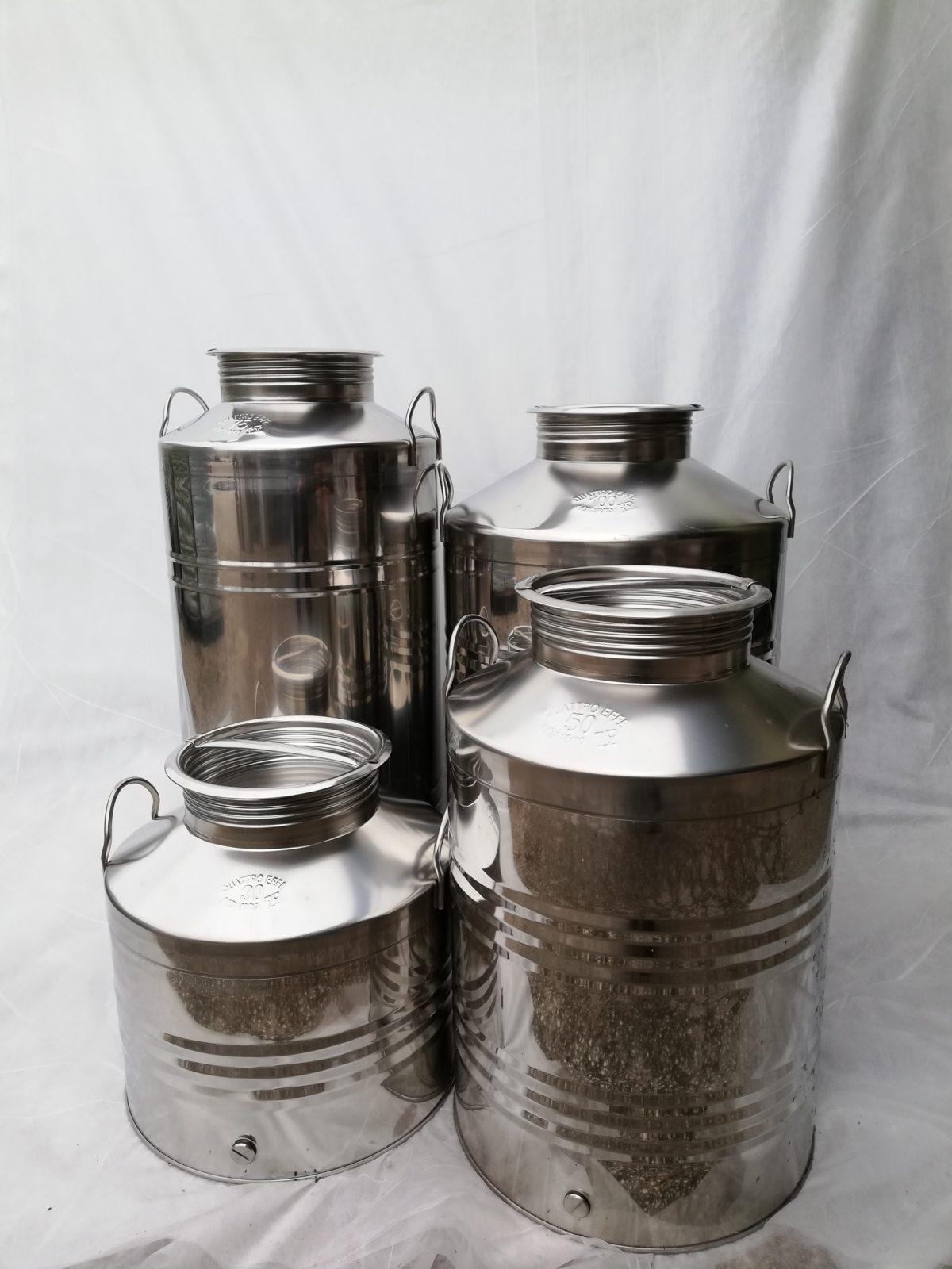 Inox posude za ulje