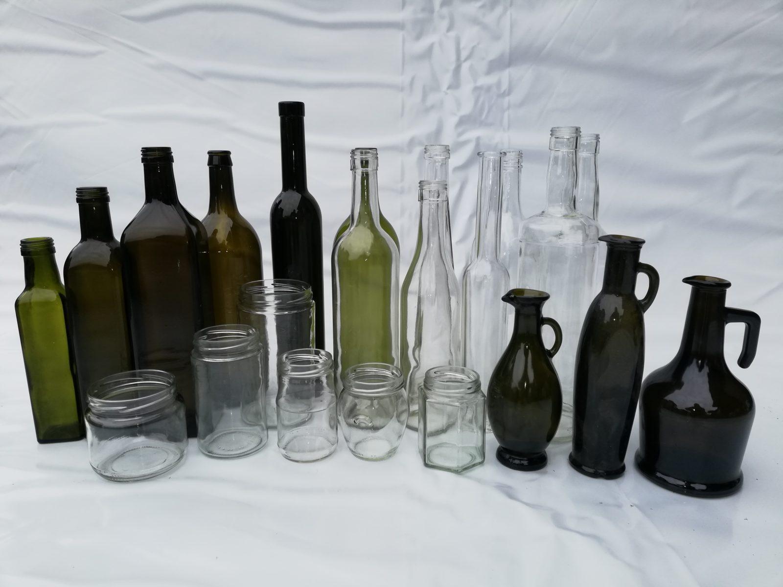Staklena ambalaža za ulje i likere